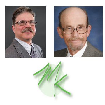 Michael Kleiner (left) and John Shiffert (right), the experienced team at Michael Kleiner Public Relations and Web Design